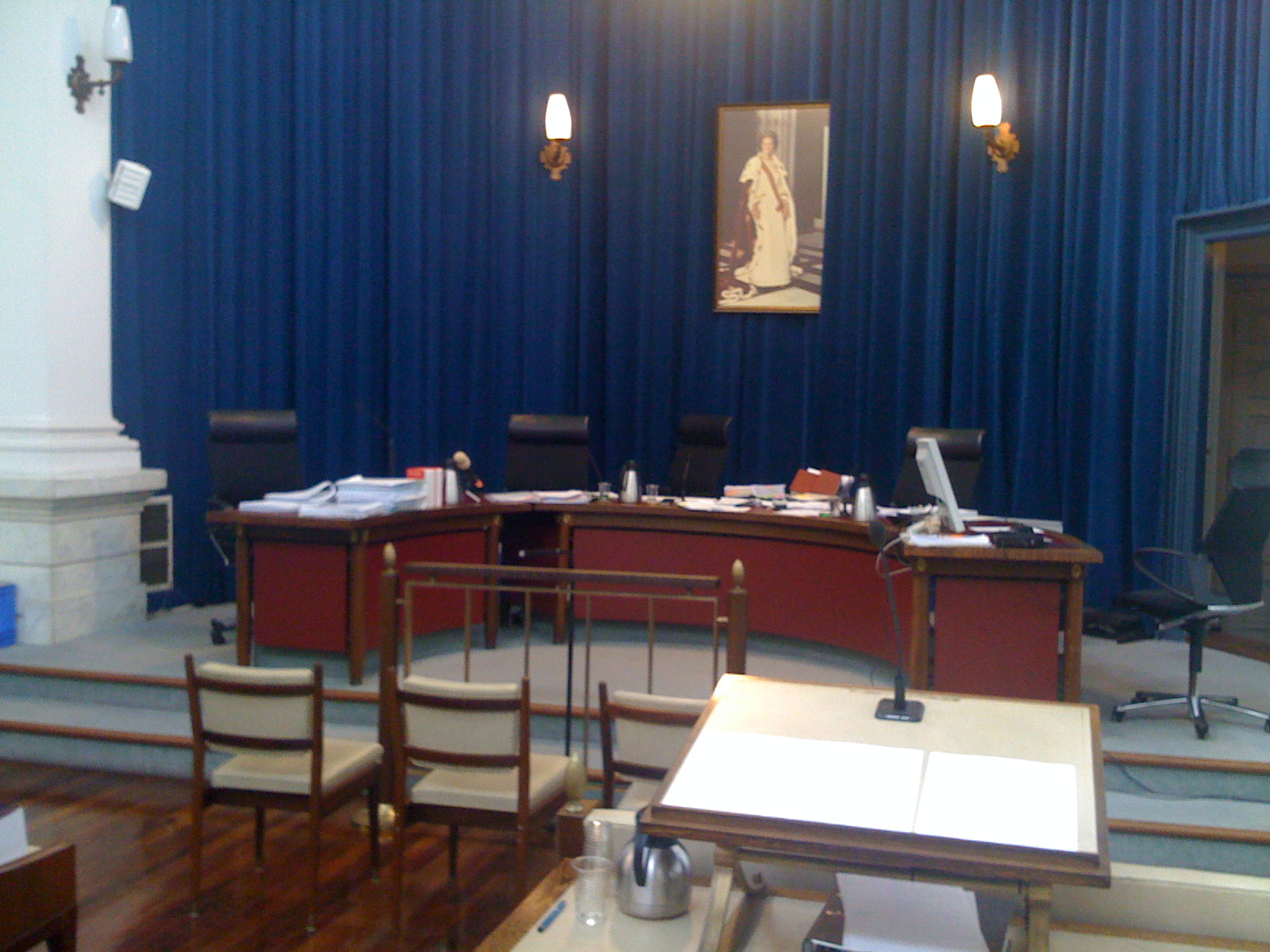 Abonnement op zittingszaal 14