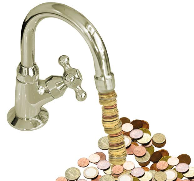 Afbeeldingsresultaat voor geld als water
